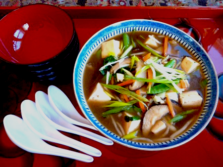 Great Food Fast: Shiitake Mushroom Broth with Tofu and Baby Bok Choy ...