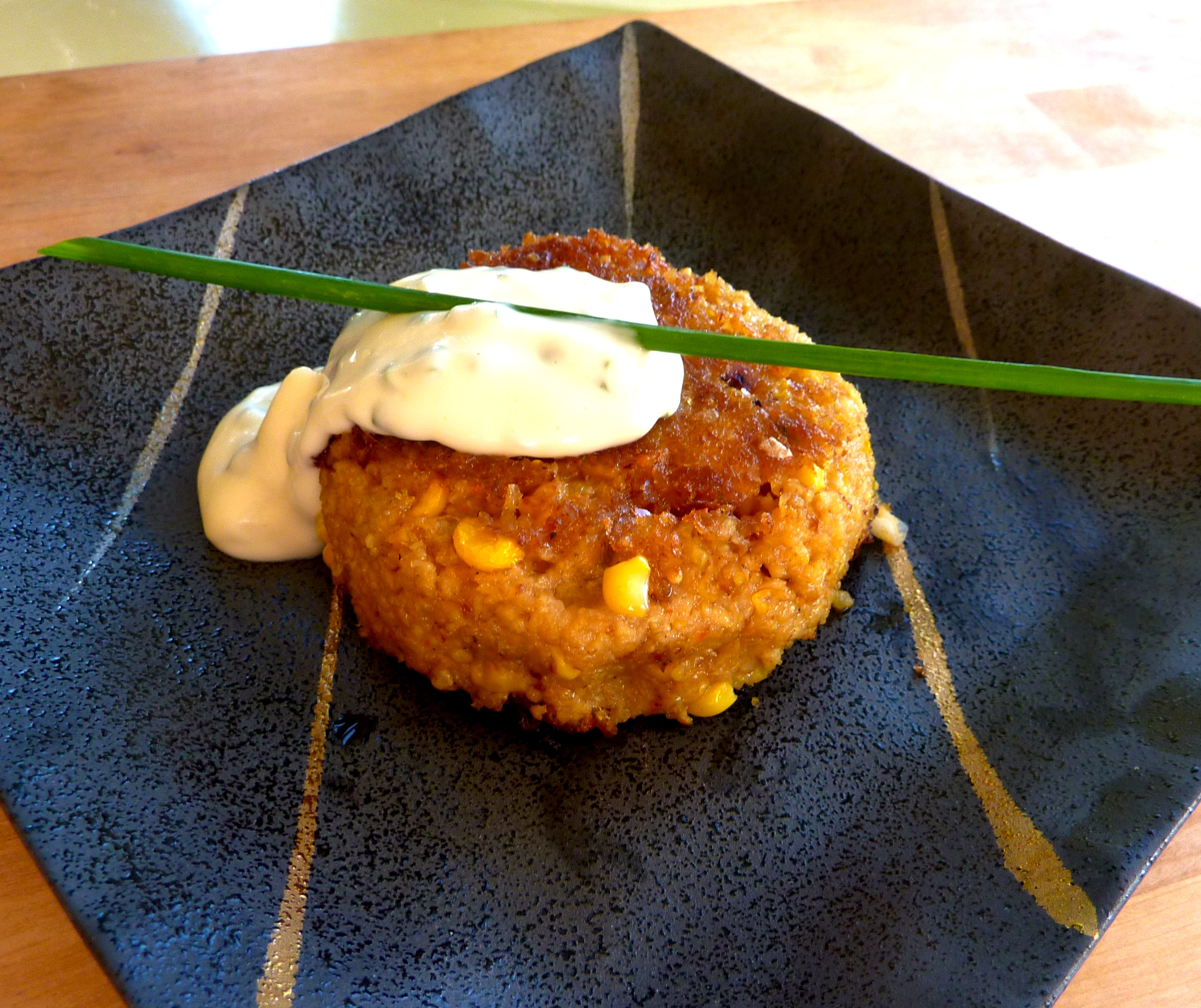 ... Harvest: Fresh Sweet Corn and Millet Croquettes « the MacroChef