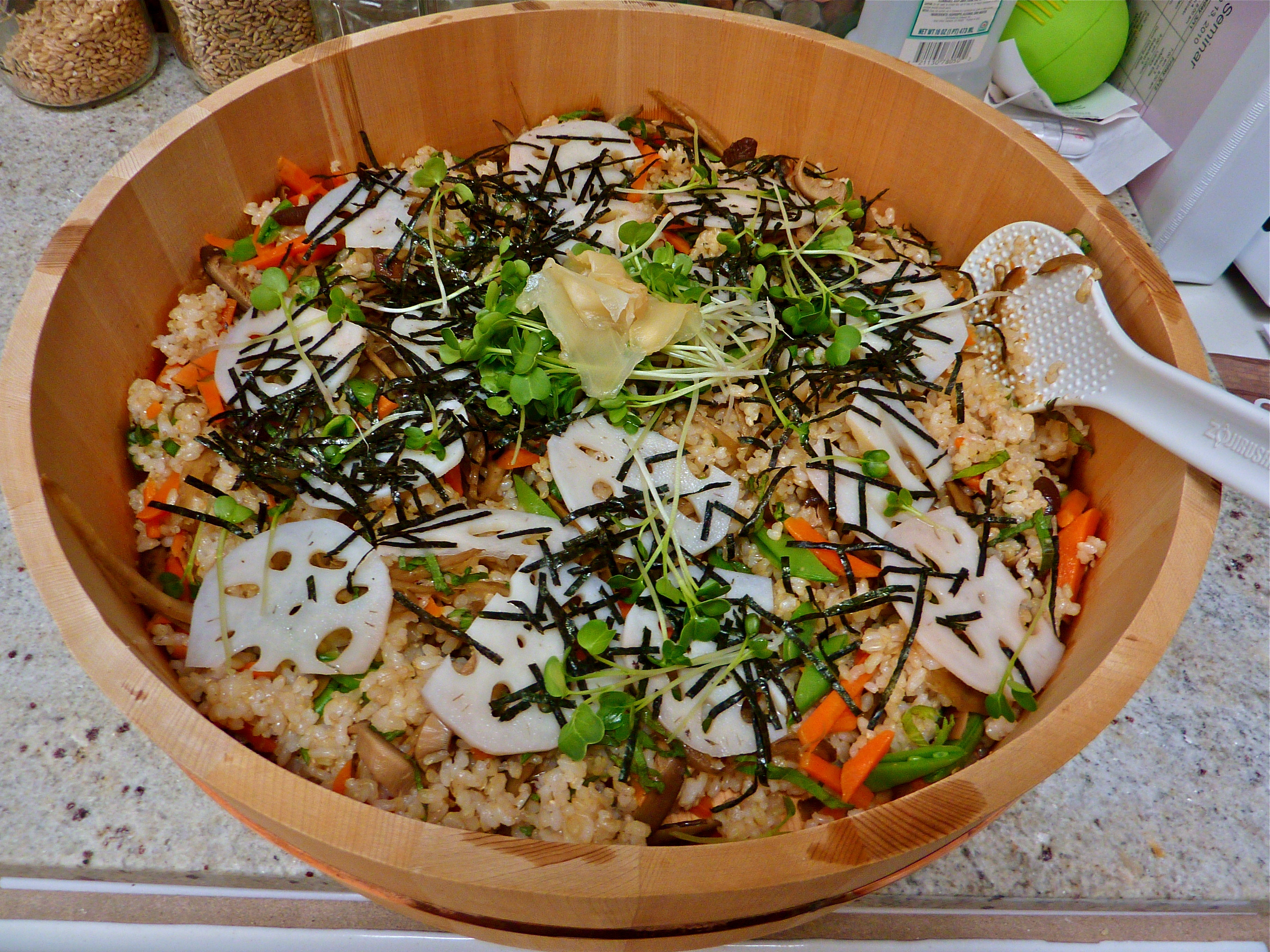 how to cook rice by a japanese chef