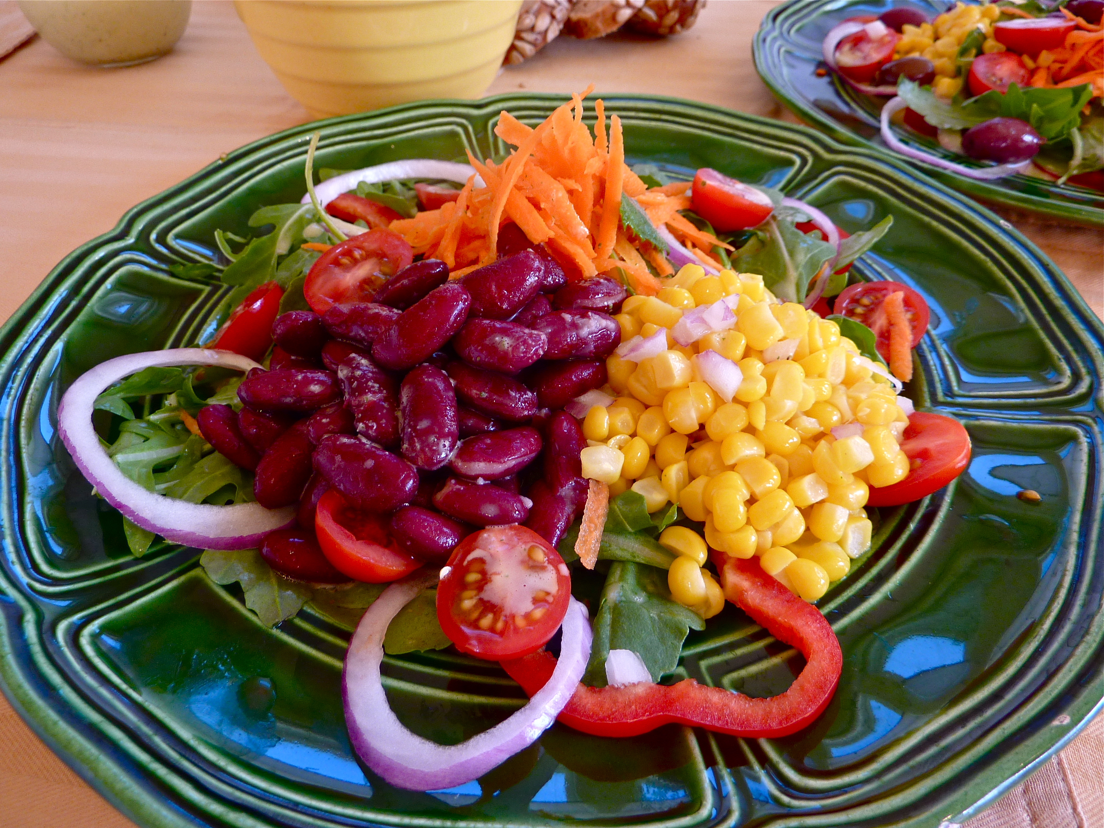 Summers Harvest What To Eat On A Hot Day Veggie Salads With All Salad Vegetarian Detailed Recipes After The Jump