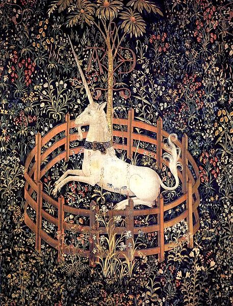 Tapestry_by_unknown_weaver_-_The_Unicorn_in_Captivity_-_WGA24176